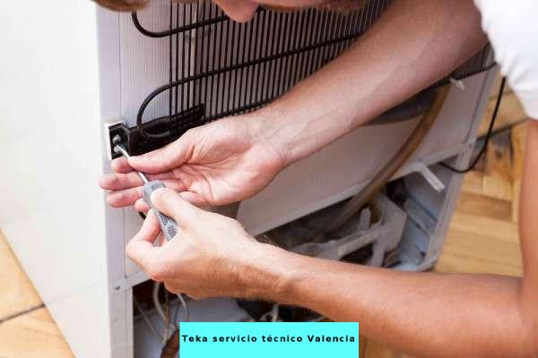 reparacion de neveras teka valencia